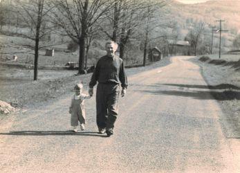 Avec mon père à Highfalls, état de New York