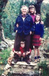 Mes parents et ma soeur Jean à la villa Les Collines à Vence