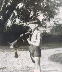 Ma première trompette, en fait un clairon